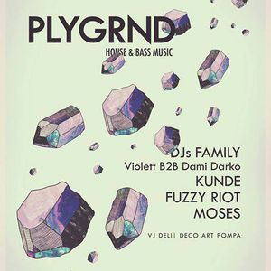 Playground XIX ::: Dj's Family (Violett b2b Dami Darko) ::: 07-06-2014