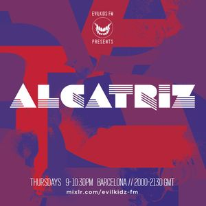 Alcatriz on Evilkidz FM  Barcelona July 2015 Show #1