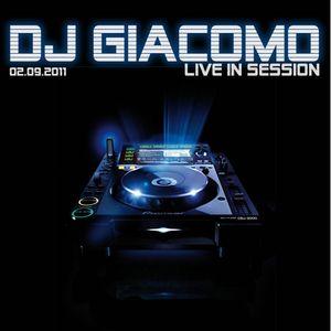 DJ Giacomo live in Session 02.09.11