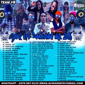 DJ WASS - STAR LIFE DANCEHALL MIX APRIL 2016