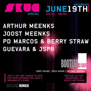 Guevara & JSPR @ SKUG Special, Bootleg DJ Café