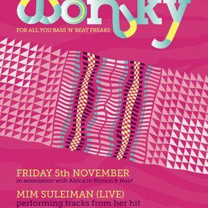 Hobbes & Wolfjazz, Wonky, Edinburgh (November 2010): Peak Time Set