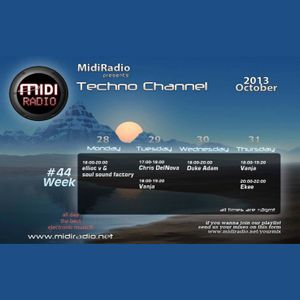 Chris DelNova @ Midi Radio (29 October 2013)[TECH-HOUSE]
