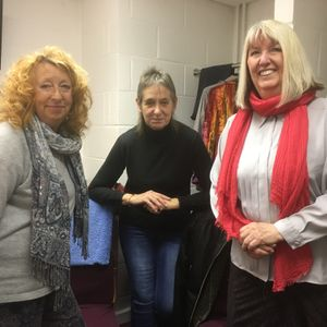 Maddy Prior and Jacqui McShee