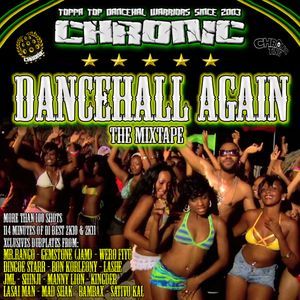 Chronic Sound - Dancehall Again Mixtape CD1 (June 2k11)