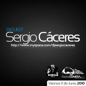 B4D@club 11 de Junio, DJ Sergio Cáceres (DJ Guest)