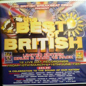 Nicky Blackmarket b2b Brockie, Best of British '1st birthday celebration' @ Bagleys, 10th march Y2K