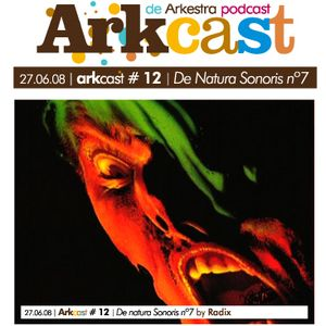 ARKcast # 12   De Natura Sonoris nº7 x Radix
