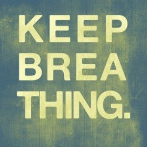 12-28-14 Just Keep Breathing - Audio