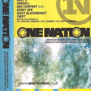 Kenny Ken with Skibadee & IC3 at One Nation 28th July 2000