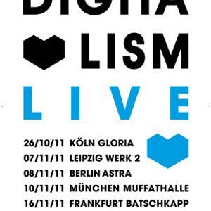 Digitalism -Live- (Kitsune Music, Cooperative Music) @ Batschkapp - Frankfurt (16.11.2011)
