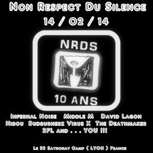 Hibou @ Non Respect Du Silence ( 10 years Deviant HARDCORE ) 14-02-2014