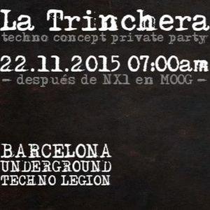 Deconstruktor@La Trinchera (22 - 11 - 15)