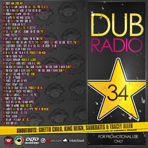 DJ R DUB L Present's DUB RADIO 34 [For Promotional Use Only]