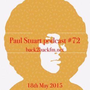 Paul Stuart – back2backfm.net – 18th May 2015.