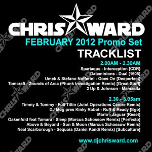 Chris Ward February 2012 Promo Set