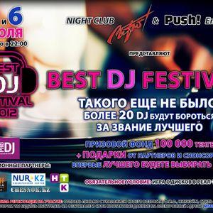 09. DJ DASTAN NARUMOFF - Best DJ Festival Mix At Metro Club (05.07.2012)