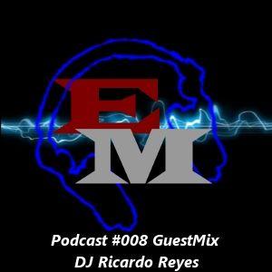 Electronic Mind Podcast #008 GuestMix DJ Ricardo Reyes (01-09-2012)