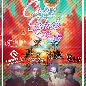 DJ M-Lazy - Color Splash Party MIX