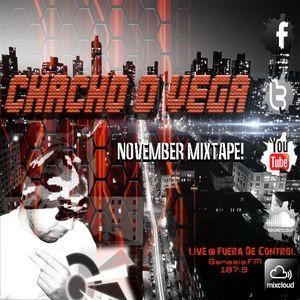 November Mixtape! Live @ Fuera De Control [Genesis Fm 107.9]