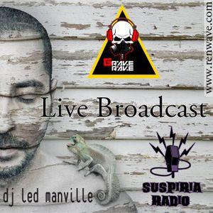 DJ Led Manville - ON AIR at Suspiria Radio (Grave Rave) (Colombia 11 de Agosto 2012)