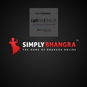 SImply Bhangra live @ All Fm every with Gorilla Chilla and Dj Rav every Thursday 1-2 pm 16/2/12