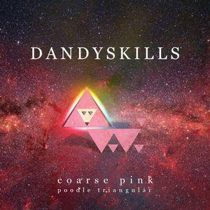 Dandyskills - Coarse pink poodle triangular mix