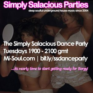 The Simply Salacious Dance Party with Peter Borg Tuesday 23 June 2015