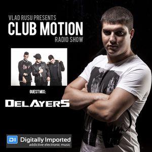Vlad Rusu - Club Motion 205 (Guest Delayers) (DI.FM)