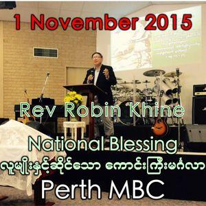 National Blessing