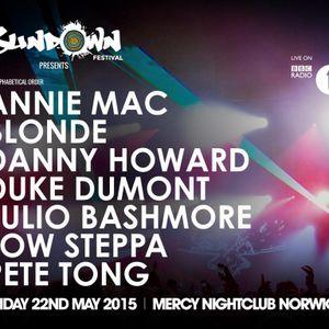 Annie Mac - Live @ Sundown Festival, Mercy Nightclub Norwich - 22.05.2015