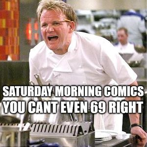 Saturday Morning Comics - The Busted Episode