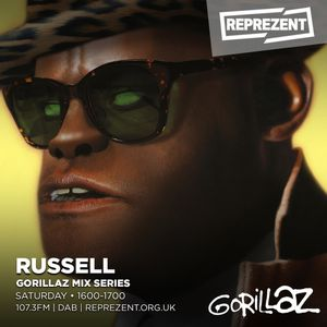 Gorillaz: Mix Series - Russell In The Mix by Reprezent Radio