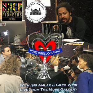 Portobello Radio Radio Show Ep 199 with Isis Amlak & Greg Weir: Pioneers.