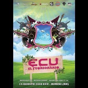 RiCKY MAGiLLA and LORENZOSPEED at discoteca Ecu Rimini 14 08 2008 Il Fuoriorario Ferragosto La12 Ore