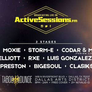 Active Sessions Live Show - Nov 2016