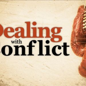 Dealing With Conflict - Audio