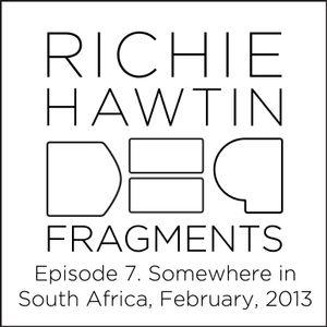 Richie Hawtin: DE9 Fragments Episode 7. Somewhere in Africa (February, 2013)