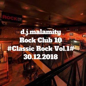 Rock Club 10 #Classic Rock Vol.1# (2018)
