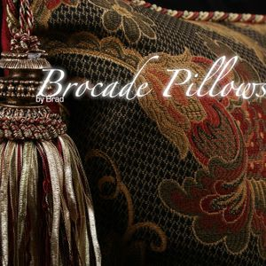 Brocade Pillows 2013