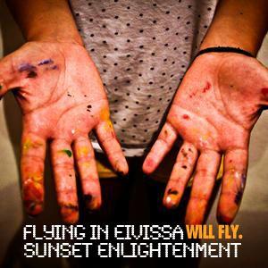 Flying in Eivissa. Sunset enlightenment.