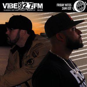 Semp Rok & DJ Opal: The Late Nite BBQ on Vibe 92.7 FM Friday Nites in Miami, FL (081718)