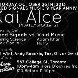 Signals Radio October 2013 Featuring Kai Alce [NDATL]