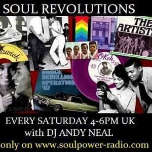 Soul Revolutions 24-6 with Grant Fisher on Soulpower Radio