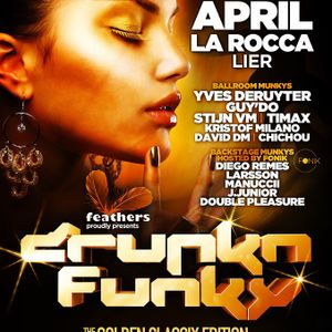 dj Chichou @ La Rocca Ballroom - Drunk 'n Funky 06-04-2013