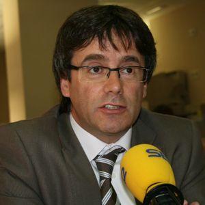 Primera entrevista de l'alcalde Puigdemont