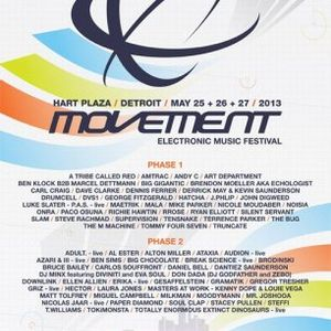 Daniel Bell @ Movement Festival Detroit - Hart Plaza Day 2 (26-05-2013)