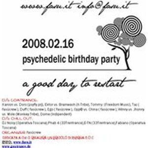 DJ Set by Paolo Brunicardi@Psychedelic Bday Party,Tuenno(TN) 16-2-2008