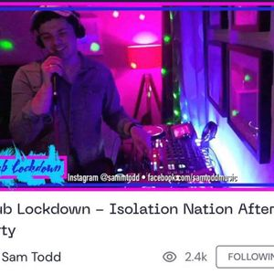 Club Lockdown - Isolation Nation After Party