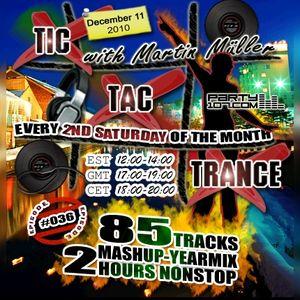 Tic Tac Trance #036 YEARMIX 2010